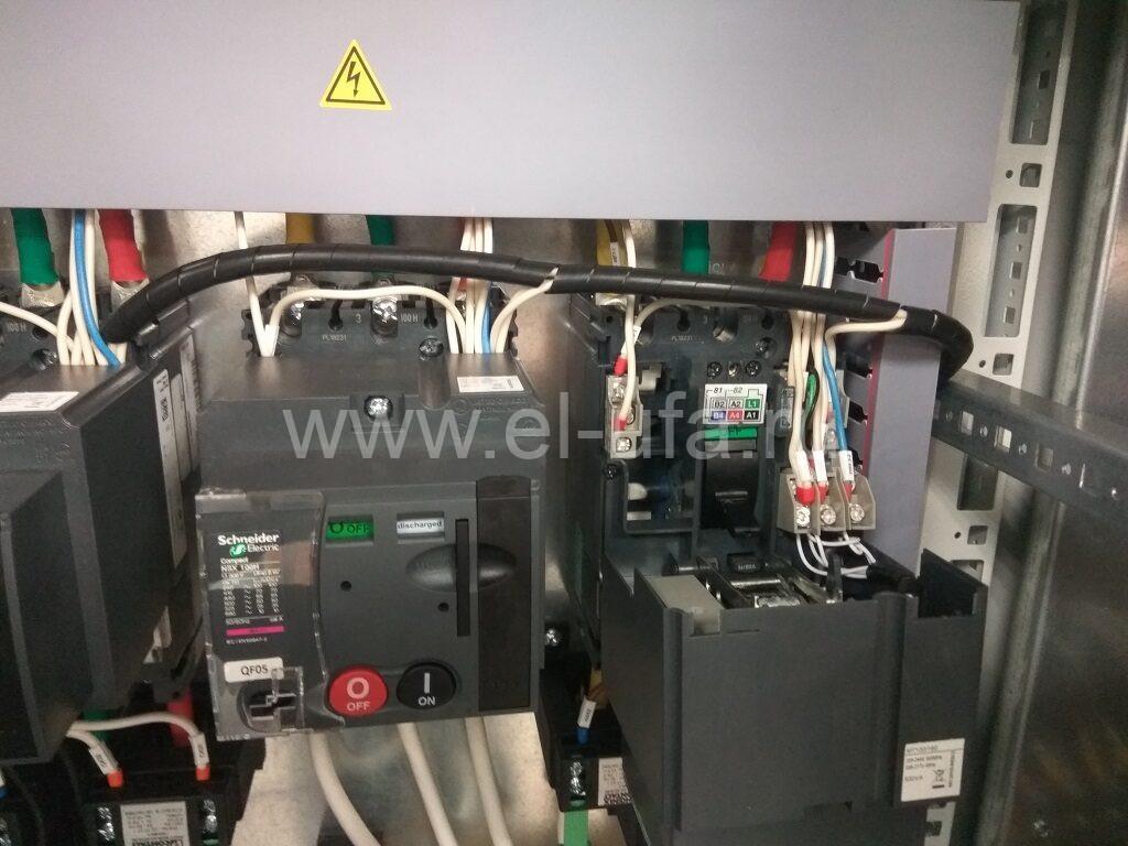 13 Подключение мотор-редуктора МТ Авт. выкл. фирмы Sch.Elec. NSX100H 100A