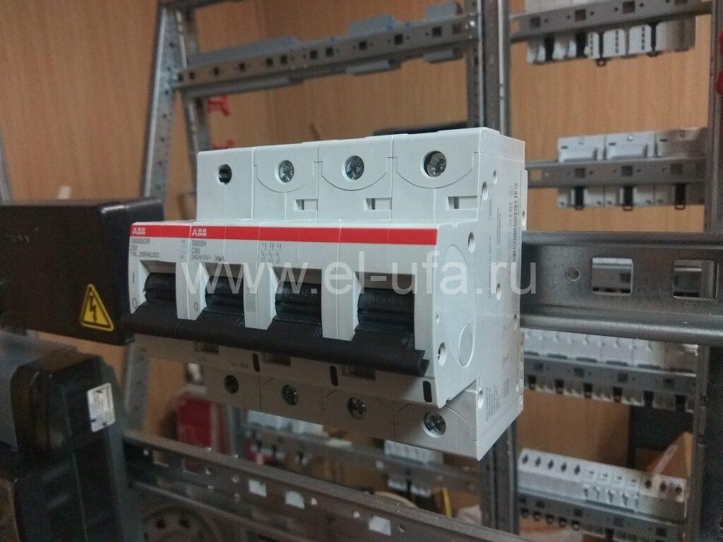 18 ABB Выключатель авт. S803N 3P с нез. расц. S800-SQR