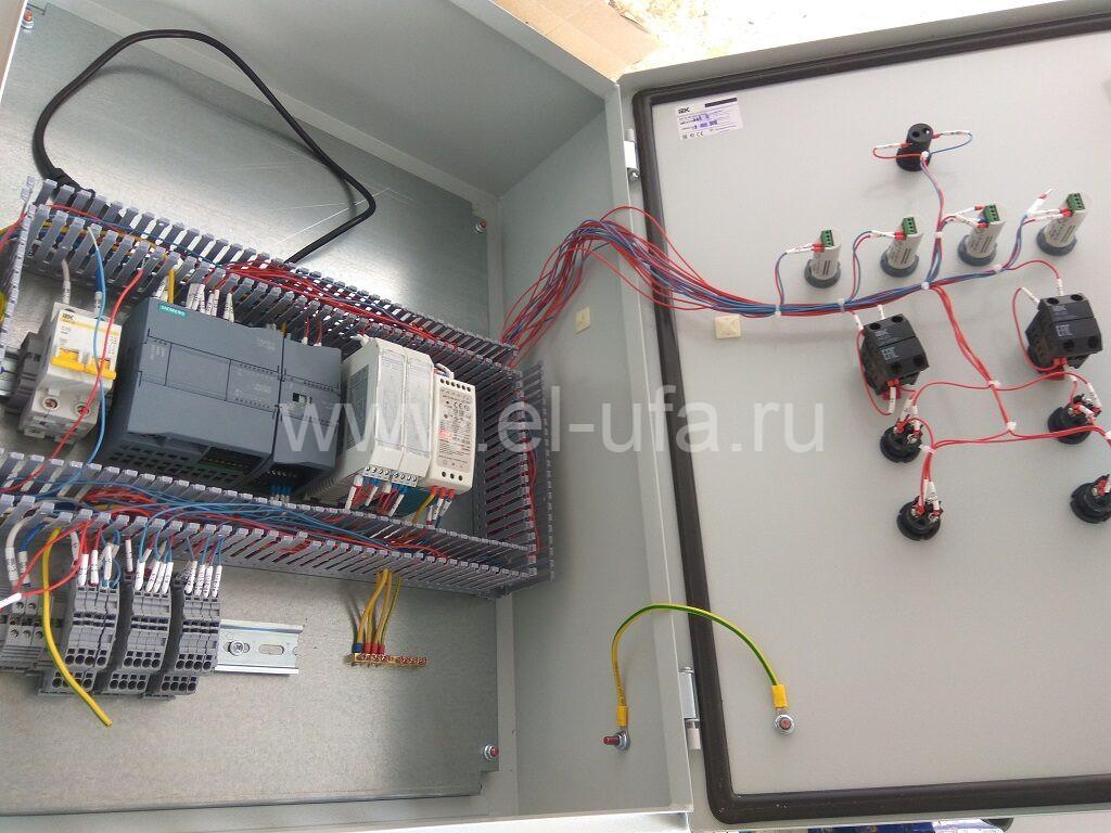 60 ШУ на базе ПЛК Siemens S7-1200